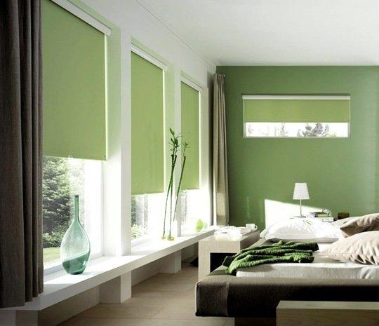 Cortinas y persianas para habitaciones